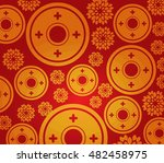 Chinese New Year Coin Pattern...