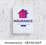 loan mortgage payment property... | Shutterstock . vector #482461069