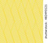 seamless striped yellow... | Shutterstock .eps vector #482493121