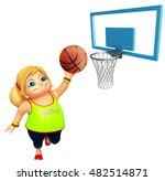 3d rendered illustration of kid ... | Shutterstock . vector #482514871