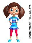 3d rendered illustration of kid ... | Shutterstock . vector #482538595
