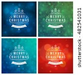 christmas typography greeting... | Shutterstock .eps vector #482541031