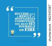 inspirational motivational... | Shutterstock . vector #482545387