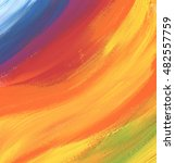 abstract color acrylic and... | Shutterstock . vector #482557759
