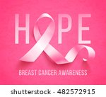 breast cancer awareness symbol  ... | Shutterstock .eps vector #482572915
