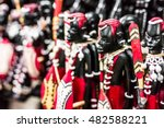 beautiful national tribal... | Shutterstock . vector #482588221