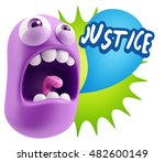 3d rendering angry character... | Shutterstock . vector #482600149