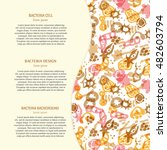 vector background with... | Shutterstock .eps vector #482603794