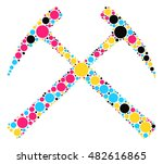 ax shape vector design by color ...