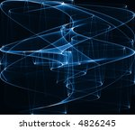 blue abstract composition | Shutterstock . vector #4826245