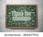 timeline concept  chalk white...   Shutterstock . vector #482647921