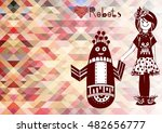 vector illustration with highly ... | Shutterstock .eps vector #482656777