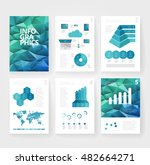 business brochure design... | Shutterstock .eps vector #482664271