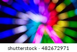 night long exposure amusement... | Shutterstock . vector #482672971