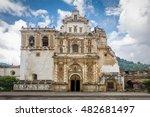 san francisco church    antigua ...   Shutterstock . vector #482681497