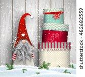 nisser in norway and denmark ...   Shutterstock .eps vector #482682559