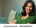 beautiful hispanic woman | Shutterstock . vector #482686801