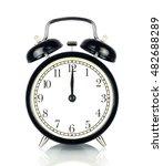 Alarm Clock Isolated On White ...