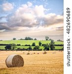 Hay Bail Harvesting In English...