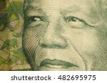 Small photo of Mandela Nelson on the monetary banknote