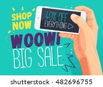 wow big sale banner template....