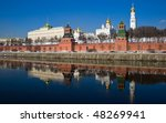 Famous Moscow Kremlin In Winte...