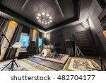 interior music studio for... | Shutterstock . vector #482704177