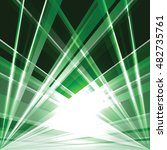abstract green shiny background ... | Shutterstock .eps vector #482735761