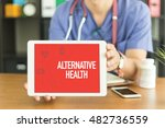 young and professional medical... | Shutterstock . vector #482736559