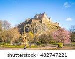 edinburgh  scotland   circa... | Shutterstock . vector #482747221