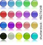 the color vector button set | Shutterstock .eps vector #48276148