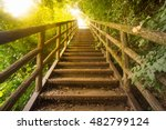 Staircase Pathway In The...