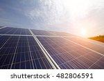 solar panels | Shutterstock . vector #482806591