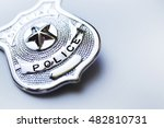 police badge | Shutterstock . vector #482810731