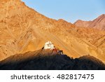 namgyal tsemo monastery leh... | Shutterstock . vector #482817475