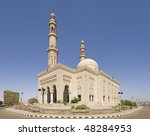 """The great mosque in """"Assuan"""" in Egypt - stock photo"""