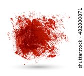grunge red texture for your... | Shutterstock .eps vector #482880871