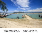 blurred beautiful tropical... | Shutterstock . vector #482884621