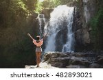 young beautiful latin girl with ...   Shutterstock . vector #482893021