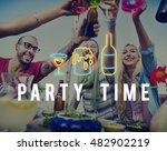 party night life fun enjoy... | Shutterstock . vector #482902219