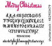 Font Merry Christmas  ...