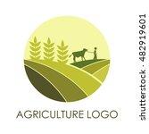 agriculture logo  farm logo   Shutterstock .eps vector #482919601