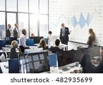 report analysis progress chart... | Shutterstock . vector #482935699