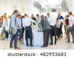 abstract blurred people... | Shutterstock . vector #482953681