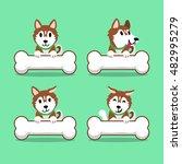 cartoon character brown...   Shutterstock .eps vector #482995279