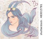 zodiac. vector illustration of...