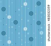 vector seamless pattern.... | Shutterstock .eps vector #483032359
