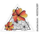 Triangle Hipster Design....