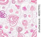 seamless pattern   Shutterstock .eps vector #48307951