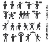 people person basic body... | Shutterstock .eps vector #483081451